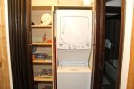 Mammoth Condo Rental Wildflower 16 - Washer and Dryer For Your Convenience
