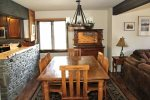 Mammoth Lakes Condo Rental Wildflower 16 - Dining Room