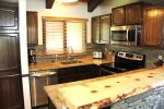Mammoth Vacation Rental Wildflower 16 - Fully Equipped Upgraded Kitchen