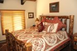 Mammoth Vacation Rental Wildflower 16 - Master Bedroom has 1 King Bed