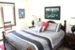 Mammoth Lakes Condo Rental Wildflower 45 - Bedroom with 1 Queen Bed