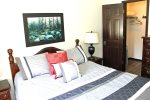 Mammoth Lakes Rental Wildflower 45 - Comfortable Bedroom and walk-in closet