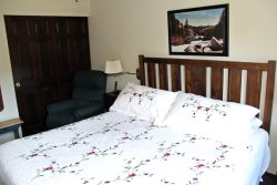 Mammoth Condo Rental Wildflower 24 Loft has 2 Twin Beds and a King Bed
