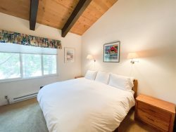 Mammoth Lakes Vacation Rental Chateau Blanc 30 - Entry to Master Bedroom