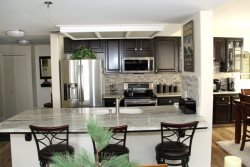 Mammoth Condo Rental Silver Bear 37 Upgraded Fully Equipped Galley Style Kitchen