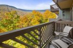 Take in the spectacular views from your private balcony