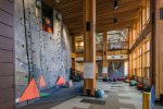Stowe Rocks, indoor climbing facility, is open year-round