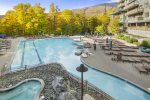 Heated pool and hot tubs are open year-round