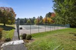 On-site tennis courts are available