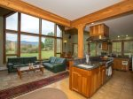 Open floor plan and Lovely views of Mt. Mansfield