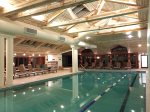 Treat yourself to one of over 100 Spa treatments, or just lounge at the indoor pool