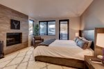 Master Bedroom with View up the Mountain