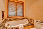 Master Bath Tub with TV