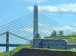 Stop at Fort Knox and the Penobscot Narrows Observatory - 1 of 4 structures like it in the world and the only in the US