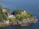 Owls Head Lighthouse is a nice walk from the cottage