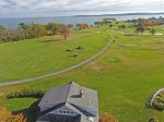 On the Green has fantastic views out of the golf course and Penobscot Bay