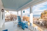 Front deck with Lincolnville Beach Views