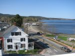 View of the Lincolnville Beach from the widows walk not accessible to renters