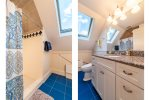 Shared Hall Bath with large stall shower- 2nd Floor