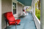Wraparound porch for hours of outdoor relaxation