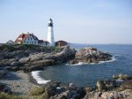 Portland Head Light at Fort Williams is nearby and an iconic Maine attraction