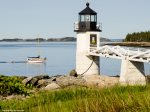 Iconic lighthouses dot the coastline - Marshall Point Light is 2.8 miles away