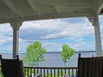 The cottages sits with open views of Penobscot Bay and Islesboro