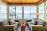 Sunroom with unobstructed views