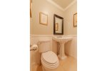Large outdoor deck with views of Megunticook Lake