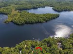 Aerial Views of Coleman Pond Cottage