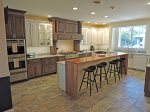 Gourmet Kitchen with stainless steel appliances and two dishwashers