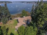Aerial Views of Marshall Point COttage