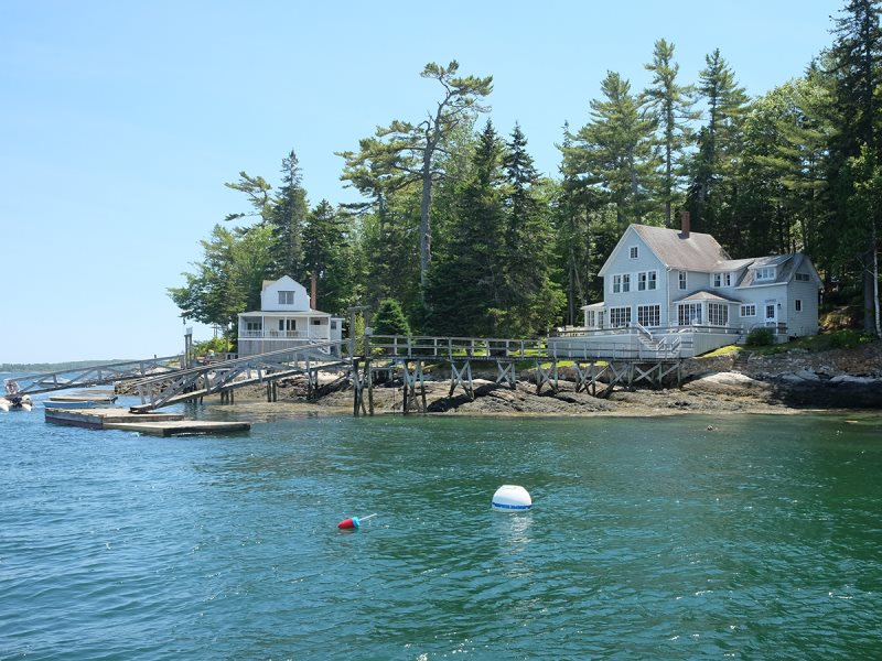 Location Southport Island Boothbay Harbor Traditional Maine Cottage With Fantastic Ocean Views