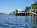 A neighboring dock is used by lobster fisherman - perhaps you can buy lobster right from them