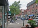 Downtown Rockland is 10 minutes from the cottage