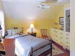 2nd floor north - Air conditioned guest room with 2 twin beds