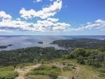 Hike to the top of Mount Battie or access 65 miles of hiking trails after a short walk from the house