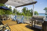 Enjoy great views from the back deck