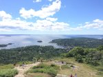 View over Camden from Mt. Battie - Hike or drive up - The start of the hiking trail is a 5 minute walk from the house