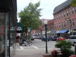 Master suite en suite tub-shower bathroom and laundry
