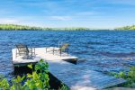 Dock Views&59&59; Quantabacook Lake is great for kayaking, swimming, and fishing