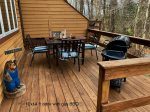 Deck with Seating and Gas Grill