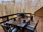 Spacious Deck for Outdoor Relaxing, Grilling and Dining