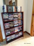 Large DVD Collection for Guest Use