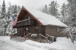 Chalet in the Wintertime