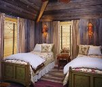 Camp Little Pine Bedroom with Twin Beds