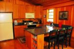 Kitchen in Boathouse
