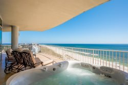 Stunning, unobstructed, endless views from this 4BD gulf front luxury condo!
