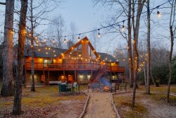 Alpine River Escape - Secluded & secluded riverfront property on the Chattahoochee River