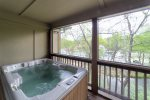 Master Bedroom Balcony w/ Hot Tub